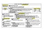 HMH Journeys Grade 5 Lesson plans- Lesson 6