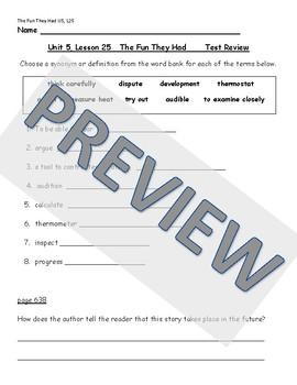 HMH Journeys Reading Grade 4, Unit 3 Test Preparation