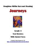 HMH Journeys Reading Grade 4, Unit 5 Test Preparation