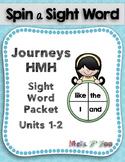 HMH Journeys Sight Word Practice