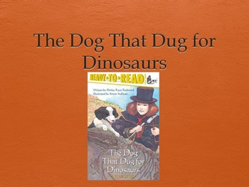HMH Journeys The Dog That Dug For Dinosaurs Power Point 2nd grade