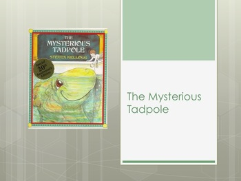 HMH Journeys The Mysterious Tadpole 2nd Grade Powerpoint
