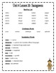 HMH Journeys Unit 4 (2012 Edition) Spelling and Vocabulary List