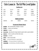 HMH Journeys Unit 6 (2012 Edition) Spelling and Vocabulary List