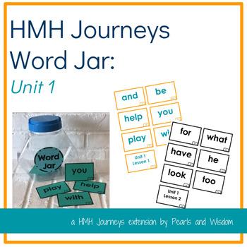 Journeys Unit 1- Word Jar- Words to Know