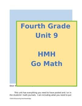 Math - 4th Grade HMH Unit 9 Decimals