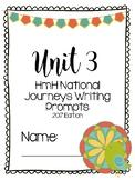 HMH National Journeys 2nd grade Writing Unit 3 2017 Series