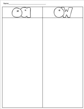 HMH Phonics Small Group/Center activity (Module 5, Week 1-Second Grade)