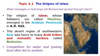 Pearson World History Powerpoint Topic 2