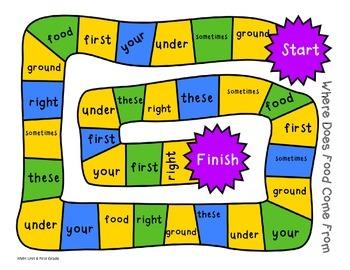 HMH Sight Word Maze - Unit 4