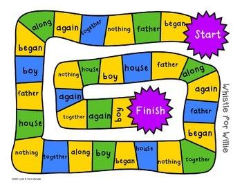 HMH Sight Word Maze - Unit 5