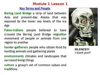 HMH US History Module 1 Powerpoint