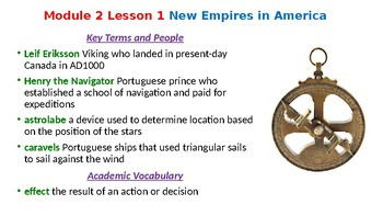 HMH US History Module 2 Powerpoint