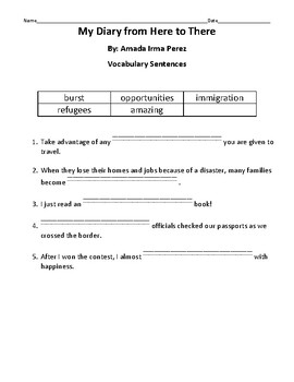 HMH into Reading Texas Ed. 4th Grade Module 3 Week 3 Vocab Packet