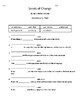 HMH into Reading Texas Ed. 4th Grade Module 9 Week 3 Vocab Packet