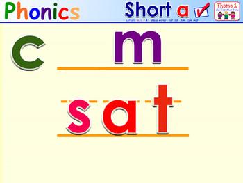HMR Grade 1 Theme 01 Phonics - Interactive Activity - PowerPoint