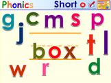 HMR Grade 1 Theme 02 Phonics - Interactive Activity - SMARTBOARD