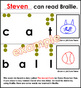 HMR Grade 1 Theme 04 - The Secret Code - Braille Activity