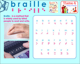HMR Grade 1 Theme 04 - The Secret Code - Braille Activity - SMARTBOARD