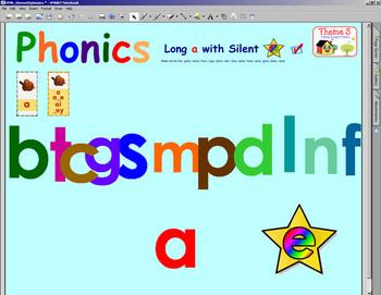 HMR Grade 1 Theme 05 Phonics - Interactive Activity - SMARTBOARD