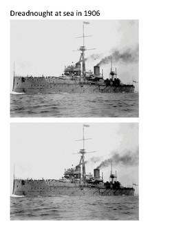 HMS Dreadnought (1906) Word Search