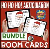 HO HO HO! Articulation BOOM Cards BUNDLE: Digital Speech Therapy