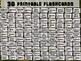HOBBIES - 36 Printable front/back FLASHCARDS
