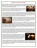 HOGMANAY - NEW YEAR IN SCOTLAND - Reading Comprehension Worksheet