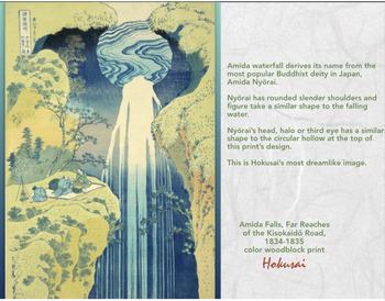 HOKUSAI Katsushika Hokusai Art JAPAN woodblock color print