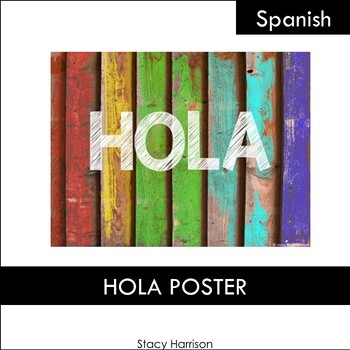 HOLA Poster