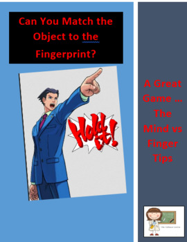 HOLD IT... Can You Match the Object to the fingerprint?