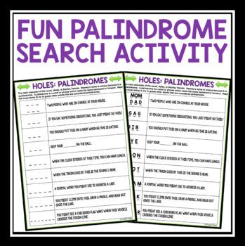 HOLES ACTIVITY PALINDROME