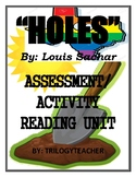 HOLES Comprehension/Activity/Assessment CCSS 315 Page Nove