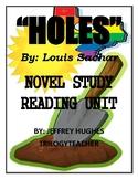 HOLES Comprehension/Activity/Assessment CCSS 315 Page Nove