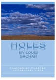 HOLES - Vocabulary Lists