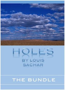 HOLES - By Louis Sachar ~ Resource BUNDLE