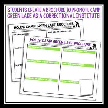 HOLES CAMP GREEN LAKE BROCHURE ASSIGNMENT