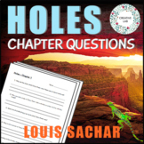 HOLES - Chapter Comprehension Questions & Answers