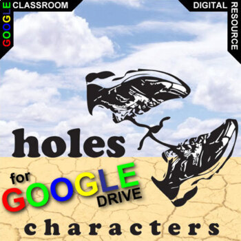 HOLES Characters Organizer (Created for Digital)