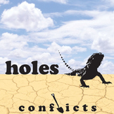 HOLES Conflict Graphic Organizer - 6 Types of Conflict