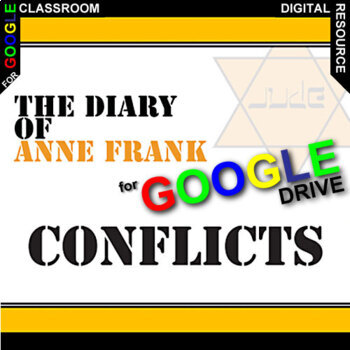 DIARY OF ANNE FRANK Conflict Graphic Organizer (Created for Digital)