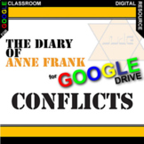 DIARY OF ANNE FRANK Conflict Graphic Organizer (Created fo