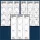 HOLES Book Novel Study Activities Chains Bracelets Bookmarks