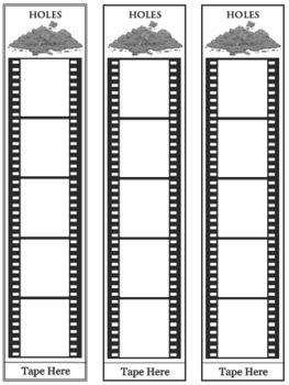 HOLES Movie Film Study Activities Chains Bracelets Bookmarks