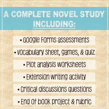 HOLES by Louis Sachar -Novel Study, PREZI, Critical Questions, Vocab, Plot Study