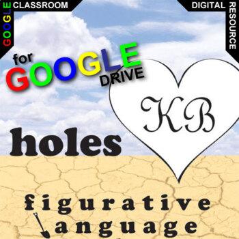 HOLES Palacio R.J. Novel Figurative Language (Created for Digital)