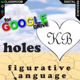 HOLES Figurative Language Analyzer (58 quotes) (Created for Digital)