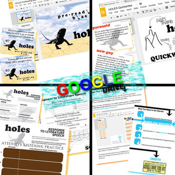 HOLES Unit Anti-Bullying Novel Study - Literature Guide (Created for Digital)