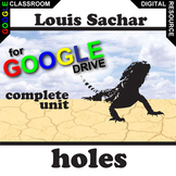 HOLES Unit Plan Novel Study - Literature Guide (Created fo