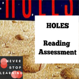 HOLES by Louis Sachar Test